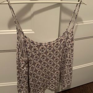 Flowy crop top - soft and sexy collection - size L